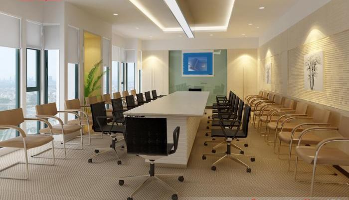 办公室装修设计:明快感
