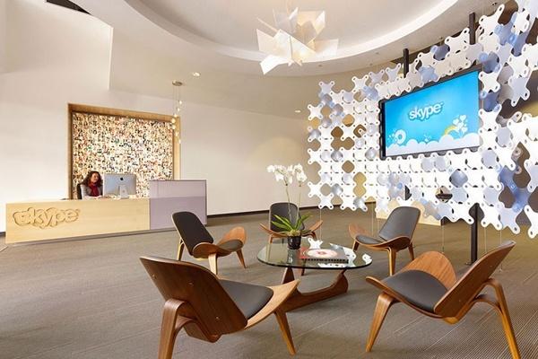 办公室装修设计:清新感