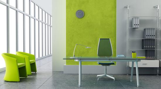 环保的办公室家具装修设计