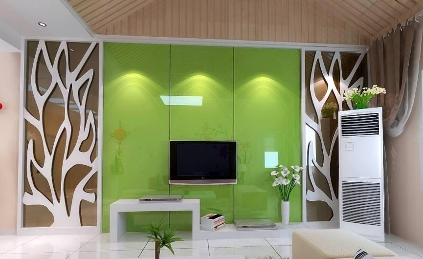 如何为客厅液晶电视背景墙,选择合适的背景颜色