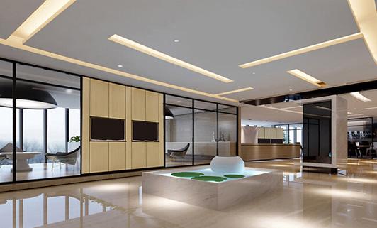 中型企业办公室功能区域如何划分?图片