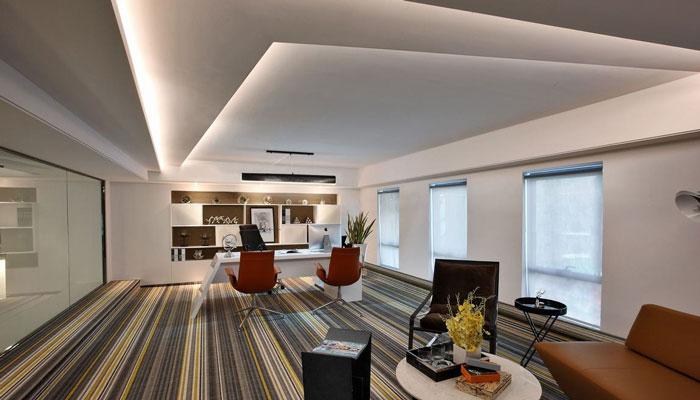 loft风格总经理办公室装修设计效果图