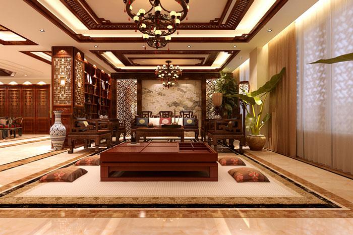 古典风格别墅客厅设计效果图
