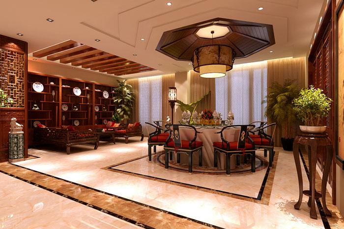 古典风格别墅餐厅设计效果图
