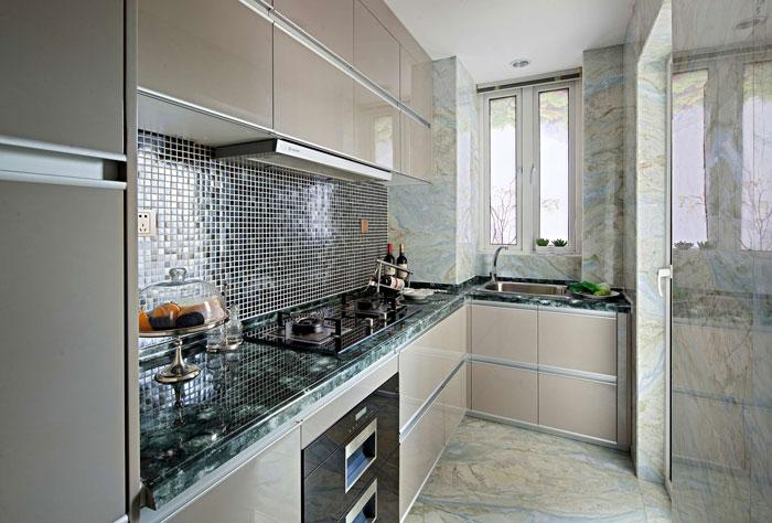 欧式风格别墅厨房装修设计效果图