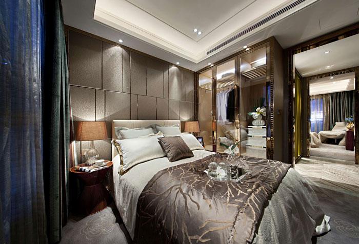 欧式风格别墅卧室装修设计效果图