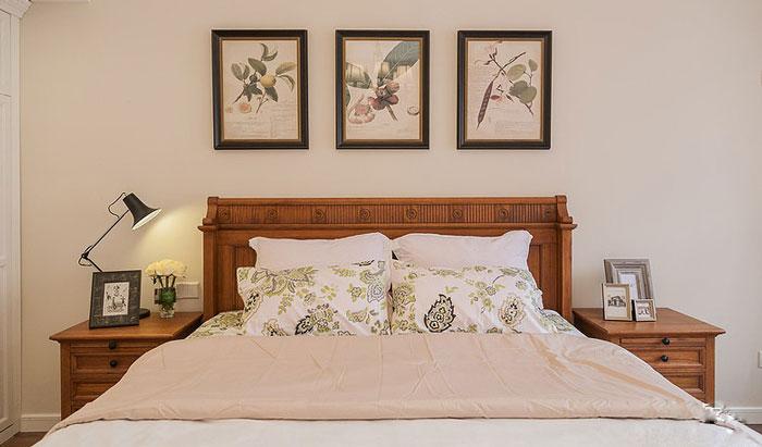 美式风格别墅卧室装修设计效果图