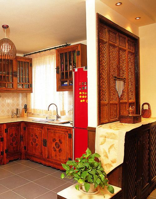 厨房空间视觉的延伸