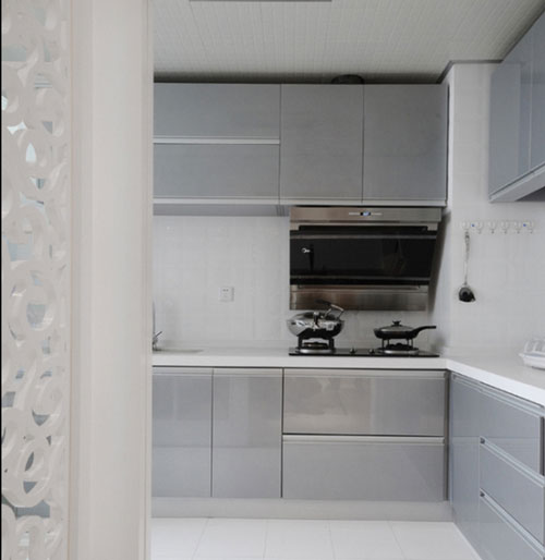 厨房空间整齐划一