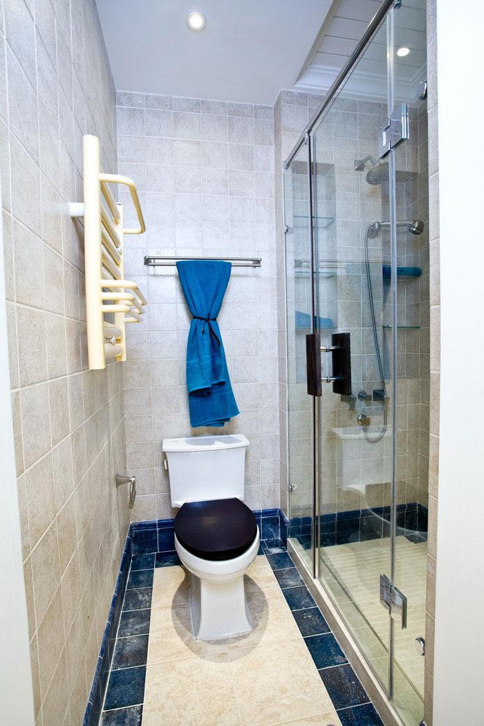 地中海风格卫生间装修设计效果图