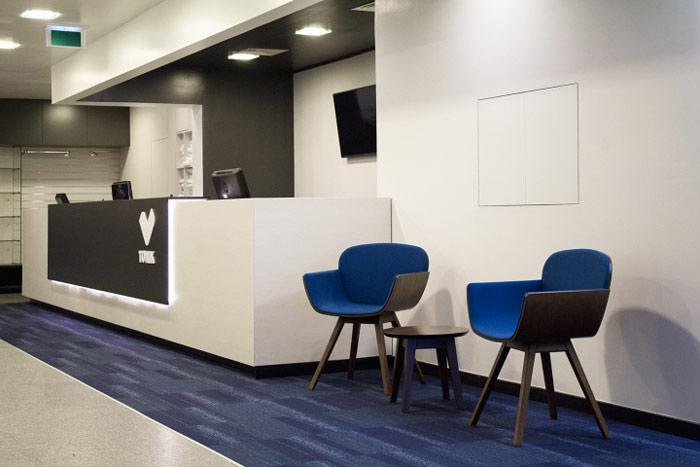 2017年最新健康俱樂部辦公室空間裝修設計