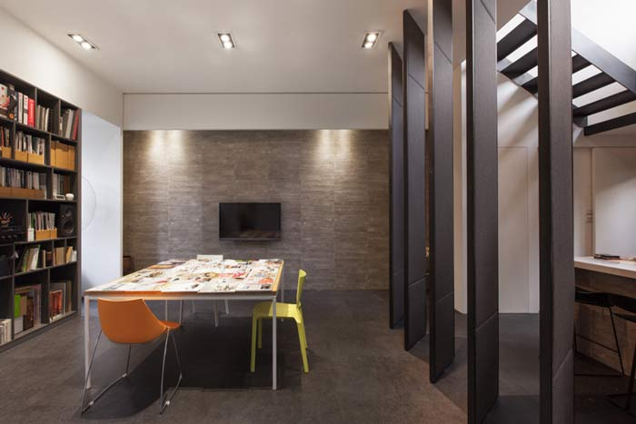 杭州loft风格办公室空间装修设计案例
