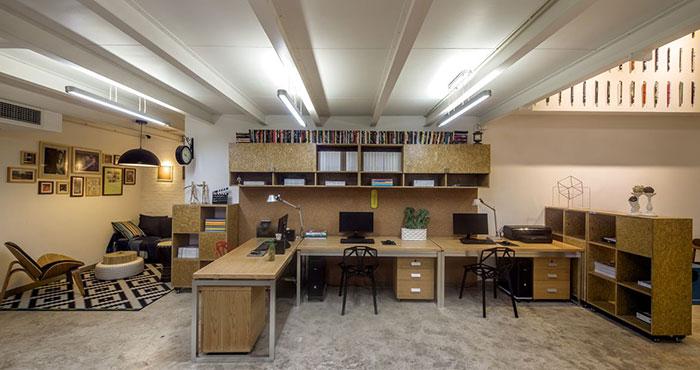 广告创意公司办公室装修设计案例