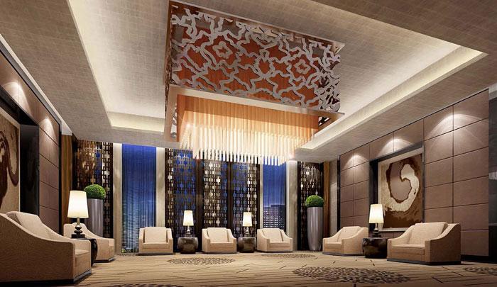 铂尔曼星级酒店装修设计案例