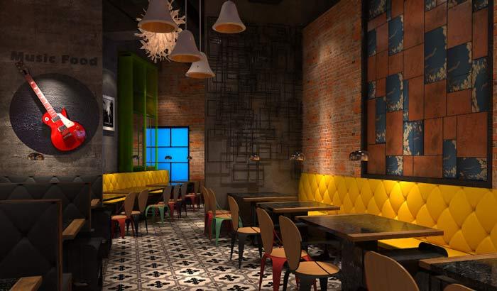 茉莉主题餐厅装修设计案例