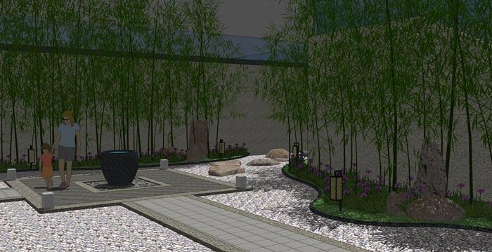 解析中式茶楼庭院设计的诗情画意