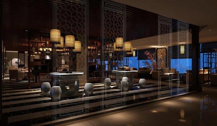 商务茶楼茶室装修设计案例