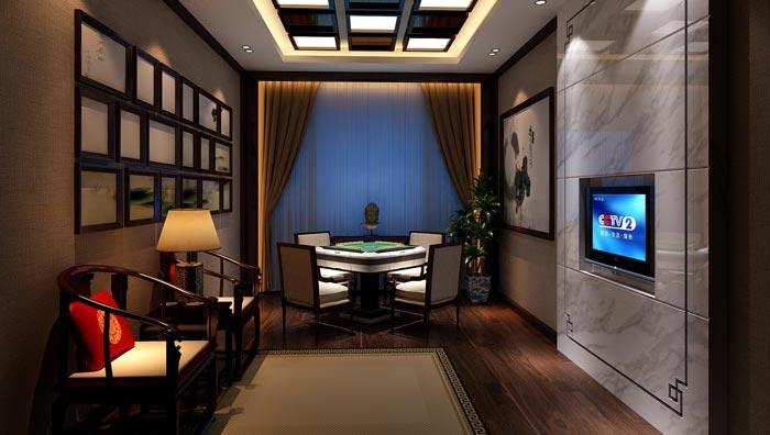 商务茶楼茶室包厢装修设计案例效果图