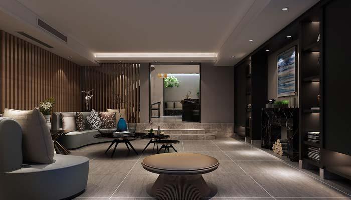 现代简约风格别墅装修设计案例