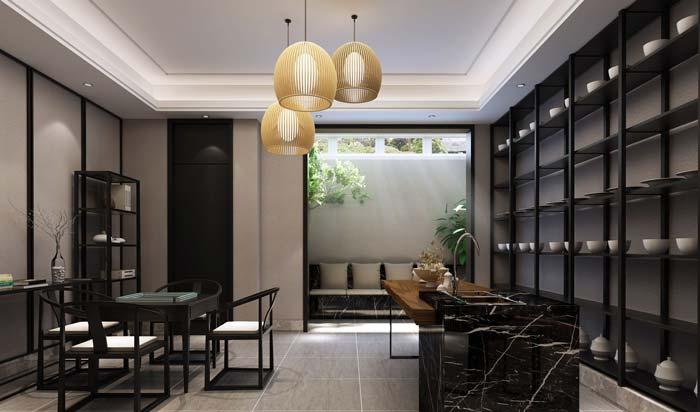 现代简约风格别墅装修设计案例效果图