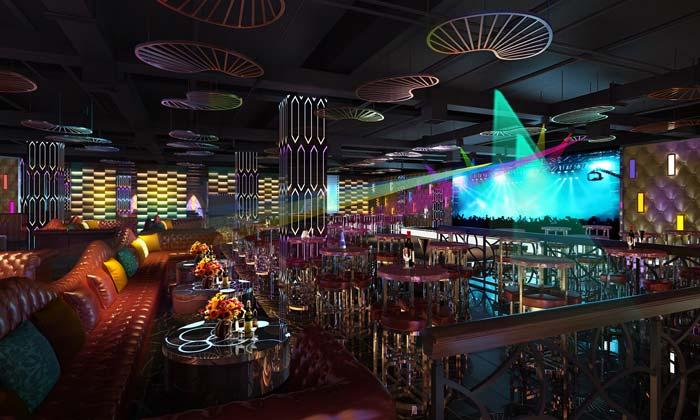 杭州酒吧大厅装修设计案例效果图