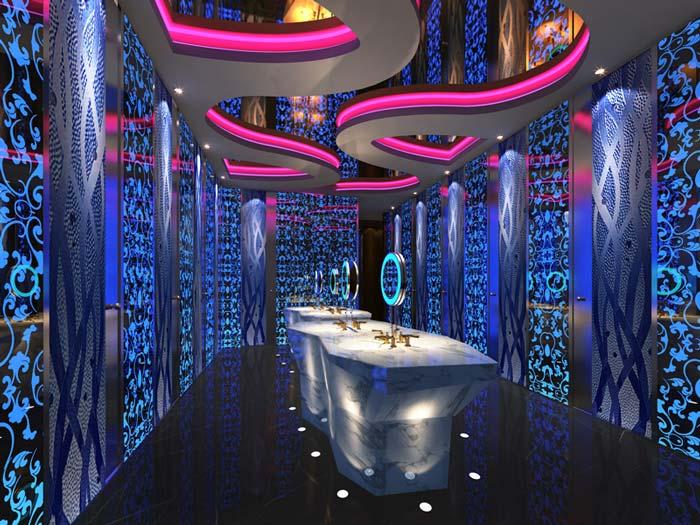 杭州酒吧装修设计案例效果图