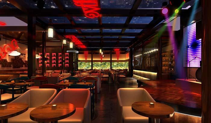 情侣、商务、聚餐、休闲酒吧装修设计案例