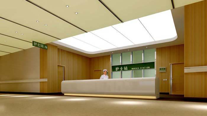 3000平米人民医院装修设计案例
