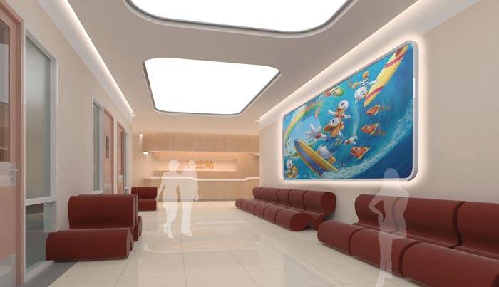 人民医院室内装修设计案例