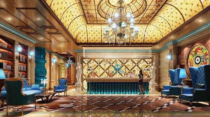 水上皇宫ktv装修设计案例