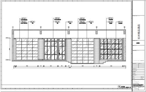 杭州精品酒店室内装饰工程深化设计一层立面图14