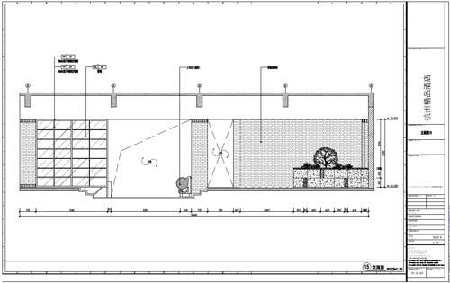 杭州精品酒店室内装饰工程深化设计一层立面图15