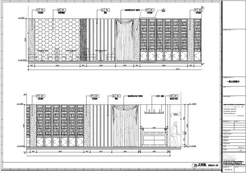 杭州精品酒店室内装饰工程深化设计一层立面图29