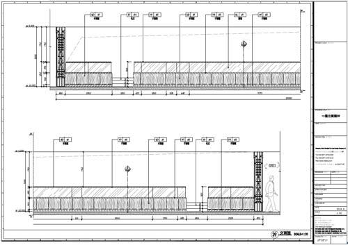 杭州精品酒店室内装饰工程深化设计一层立面图39