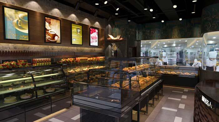杭州时尚蛋糕店装修设计案例