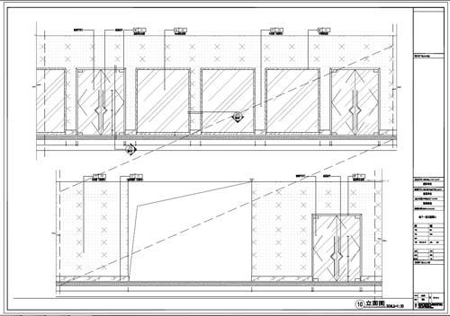 商场深化设计施工图负一层立面图10