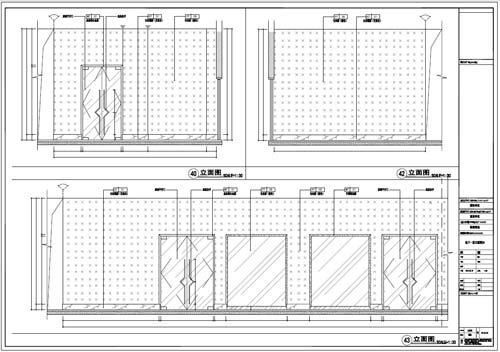 商场深化设计施工图负一层立面图40-43