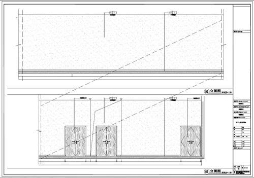 商场深化设计施工图负一层立面图53
