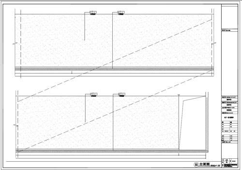 商场深化设计施工图负一层立面图55