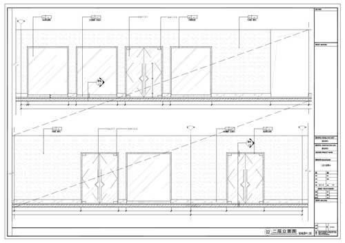 商场深化设计施工图二层立面图02