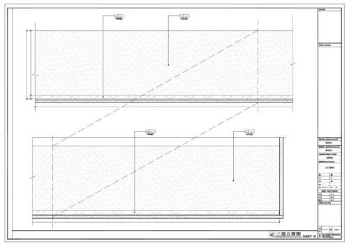 商场深化设计施工图二层立面图40