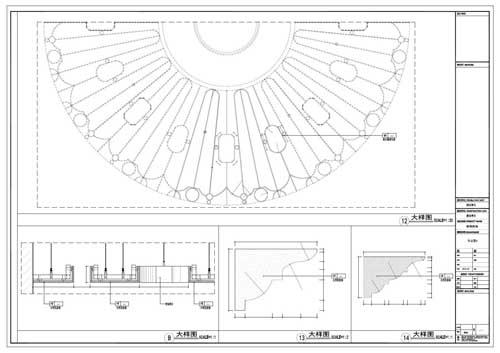 商场深化设计施工图节点12-14