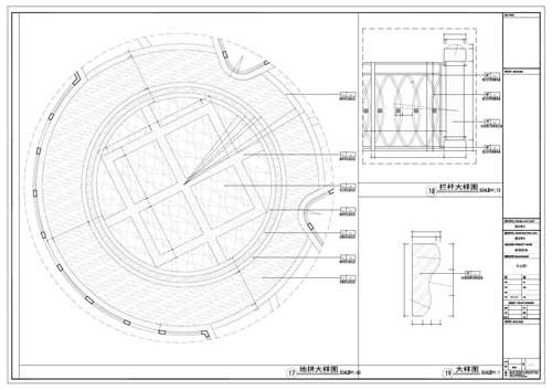 商场深化设计施工图节点17-19