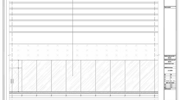 商场深化设计施工图二层立面图03