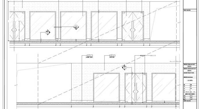 商场深化设计施工图二层立面图04