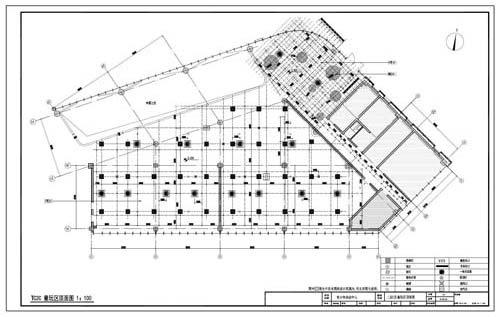 青少年活动中心深化设计施工图二层C区童玩区顶面图