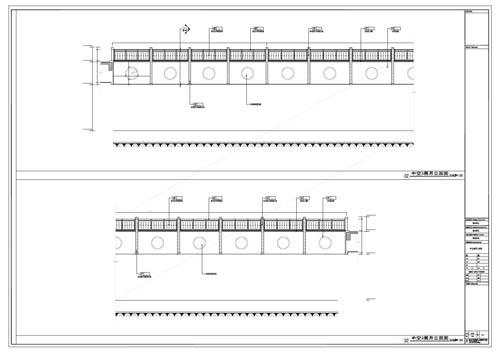 商场深化设计施工图中庭立面图02