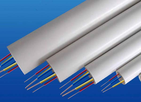 PVC穿线管在电线安装