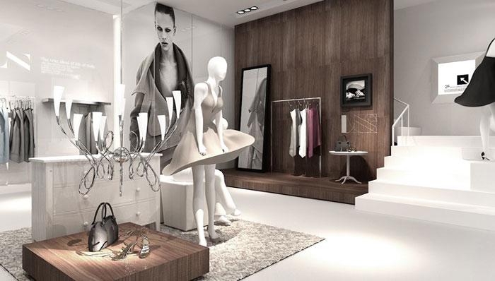 意大利女装专卖店装修设计案例