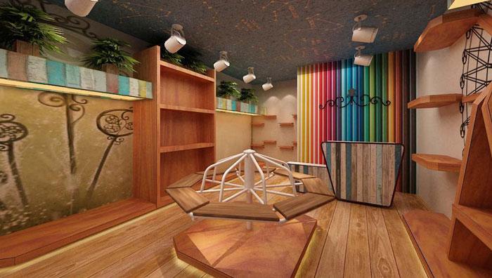 童话服装专卖店装修设计案例